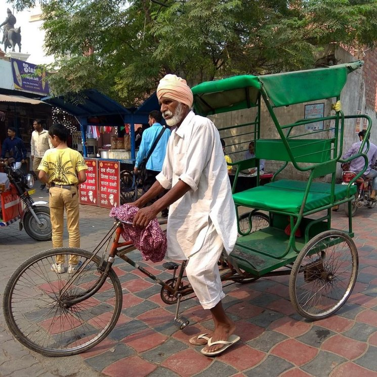 Keunikan Transportasi di Negara Gajah Yaitu India